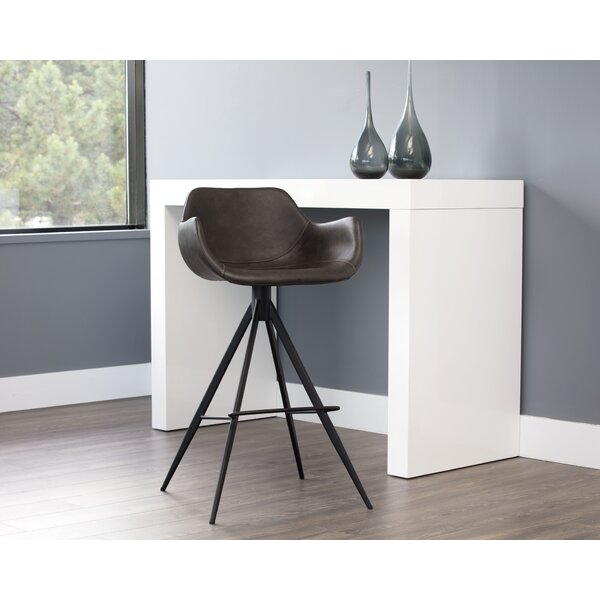 Owen Bar & Counter Swivel Stool by Sunpan Modern