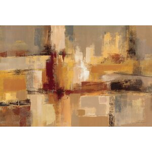 'Sandcastles' Painting Print on Wrapped Canvas by East Urban Home