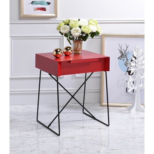 Laduke End Table by Wrought Studio