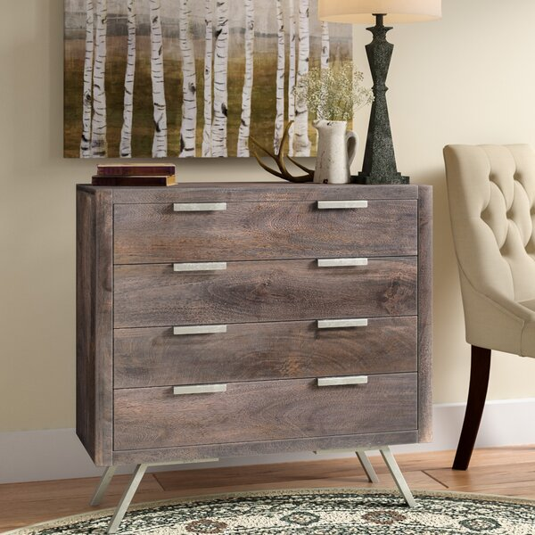 Norma 4 Drawer Accent Chest by Union Rustic