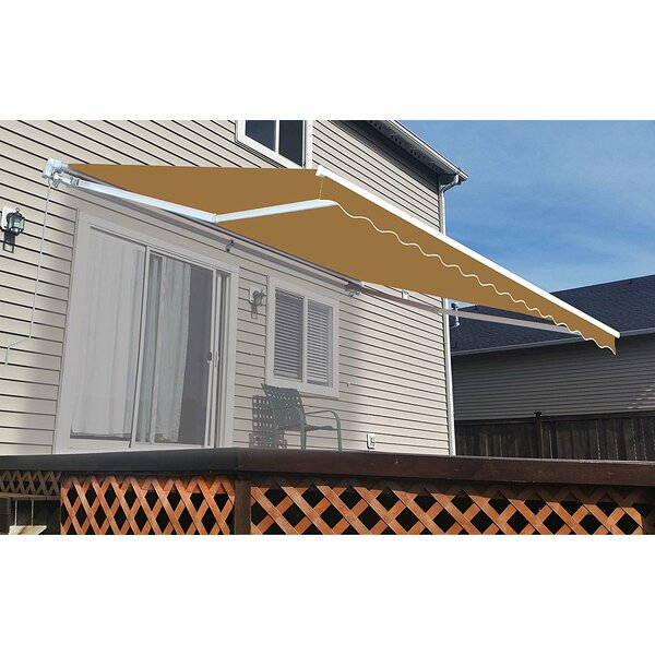 13 ft. W x 10 ft. D Retractable Patio Awning by ALEKO