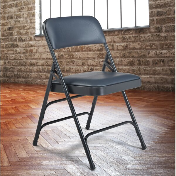 1300 Series Triple Strength Vinyl Upholstered Chair (Set of 4) by National Public Seating