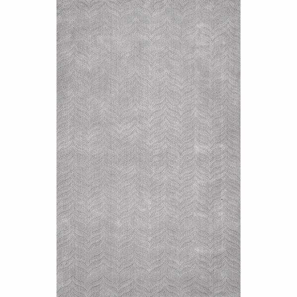 Lipford Hand-Woven Gray Area Rug by Brayden Studio