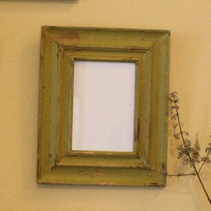 Richman Carved Reclaimed Wood Picture Frame by World Menagerie