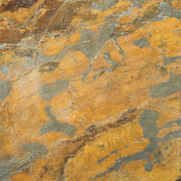 Slate 16 x 16 Calibrated Field Tile in Earth by Emser Tile
