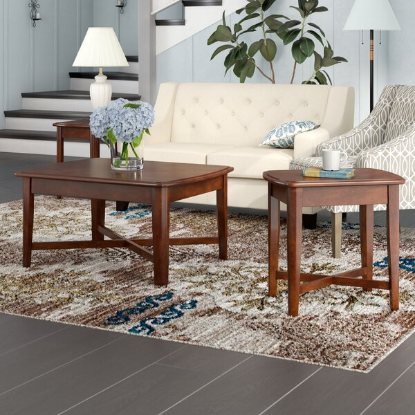 Hungerford 3 Piece Coffee Table Set by Red Barrel Studio Red Barrel Studio