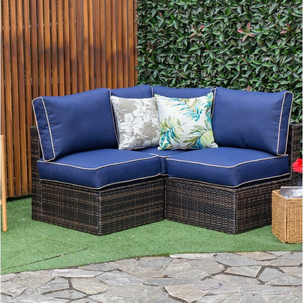Boyce Outdoor Patio Sectional with Cushions