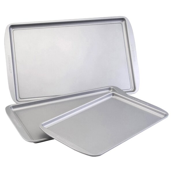 Farberware 3-Piece Baking Sheet Set by Farberware
