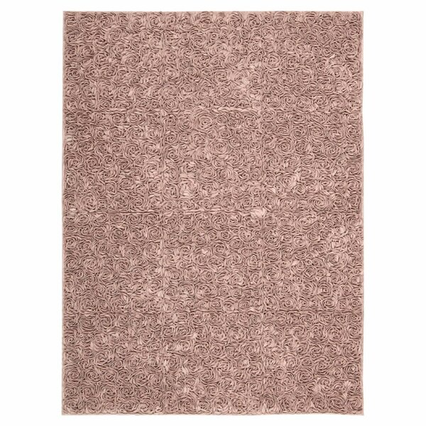 Geomar Handmade Pink Area Rug by One Allium Way