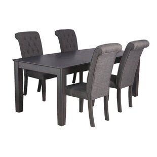 Avangeline Traditional 5 Piece Dining Set By Gracie Oaks