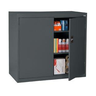 Read Reviews Elite Series 2 Door Credenza by Sandusky Cabinets