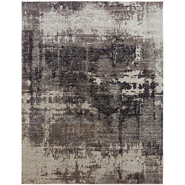 Rawtenstall Black/Gray Indoor/Outdoor Area Rug by Williston Forge