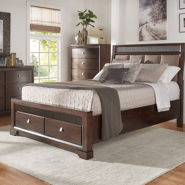 Noriega Upholstered Storage Platform Bed by Alcott Hill