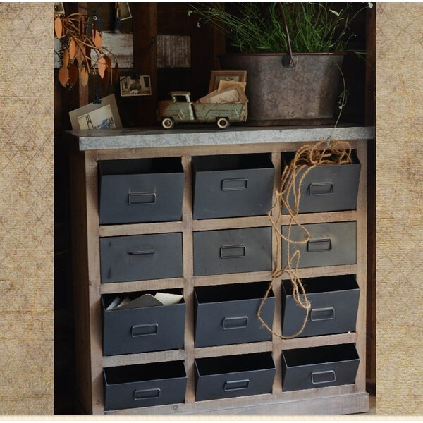 12 Drawer Apothecary Accent Chest by Williston Forge Williston Forge