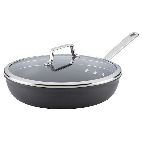 Authority 12.75 Non-Stick Skillet with Lid by Anolon
