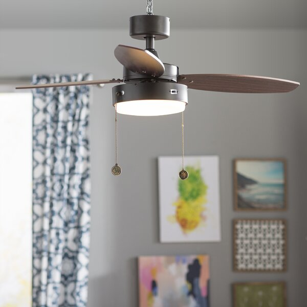42 Corsa 3 Blade Ceiling Fan by Mercury Row