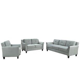 Dyuti 3 Piece Living Room Set by Red Barrel Studio®