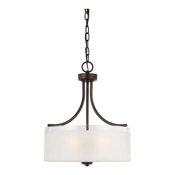 3 - Light Shaded Drum Chandelier by Andover Mills Baby & Kids Andover Mills Baby & Kids
