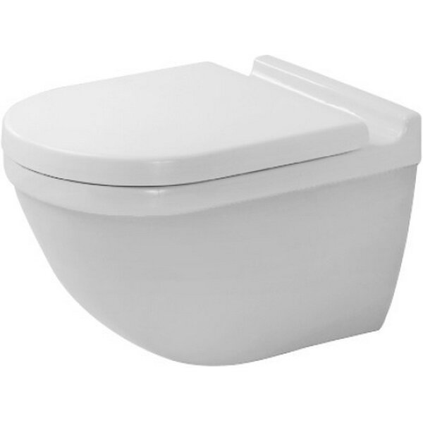 Starck 3 Dual Flush Round Toilet Bowl by Duravit