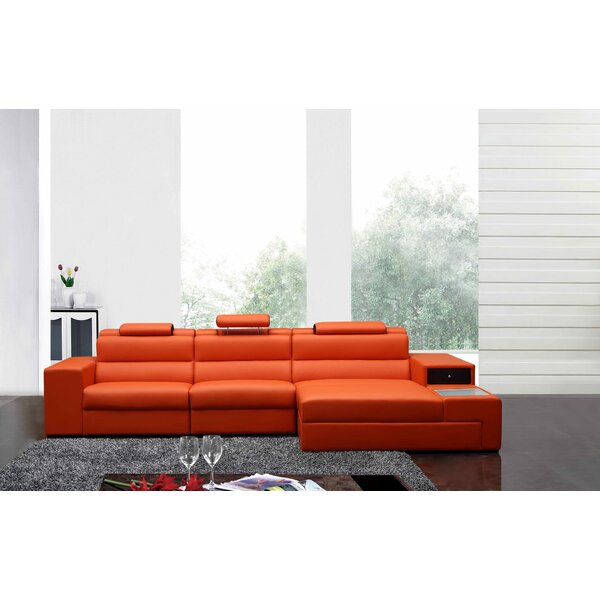 Colman Mini Sectional by Orren Ellis