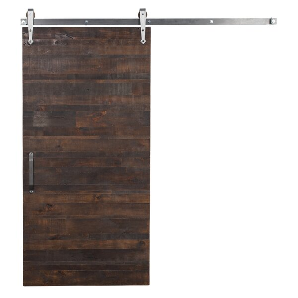 Rustica Reclaimed Solid Wood Interior Barn Door by Rustica Hardware