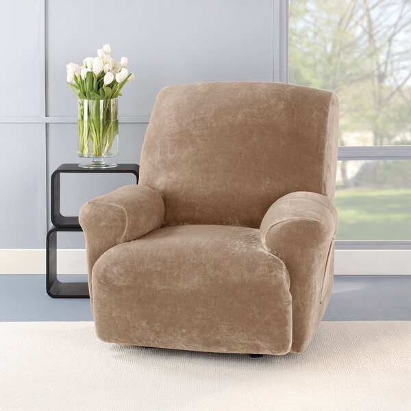 Stretch Plush Recliner Slipcover by Sure Fit