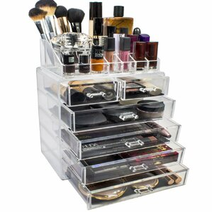 Makeup and Jewelry Cosmetic Organizer by Rebrilliant