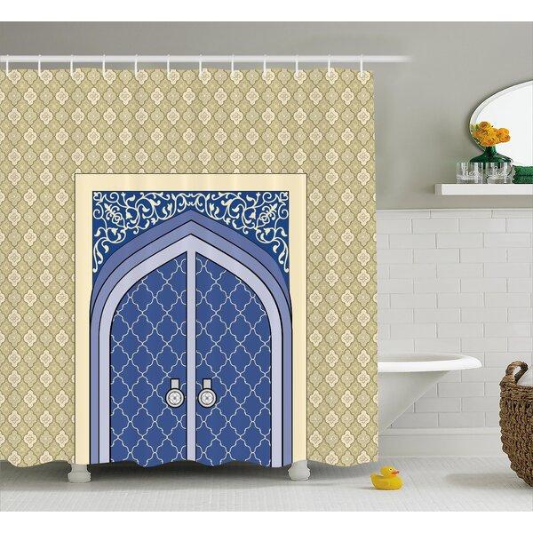 Corette Persian Ottoman Culture Shower Curtain by Bungalow Rose