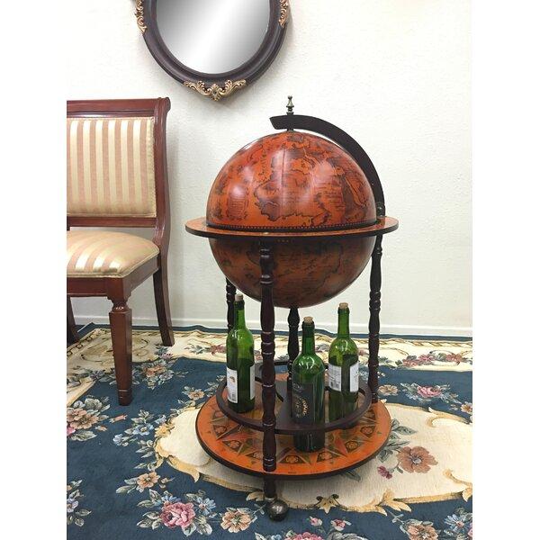 Old World Globe Bar by Three Star Im/Ex Inc.