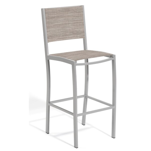 Laskowski 32 Patio Bar Stool by Latitude Run