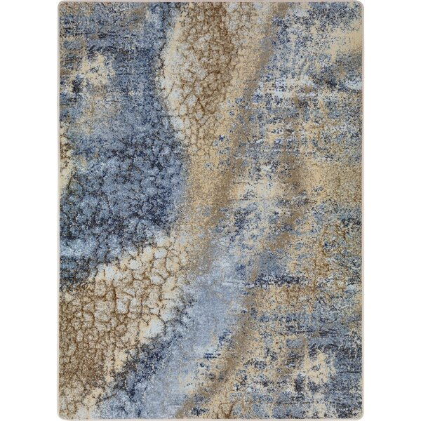 Canup Blue/Beige Area Rug by Williston Forge