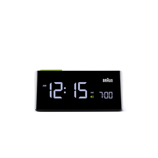 Electric Digital Alarm Clock by Braun