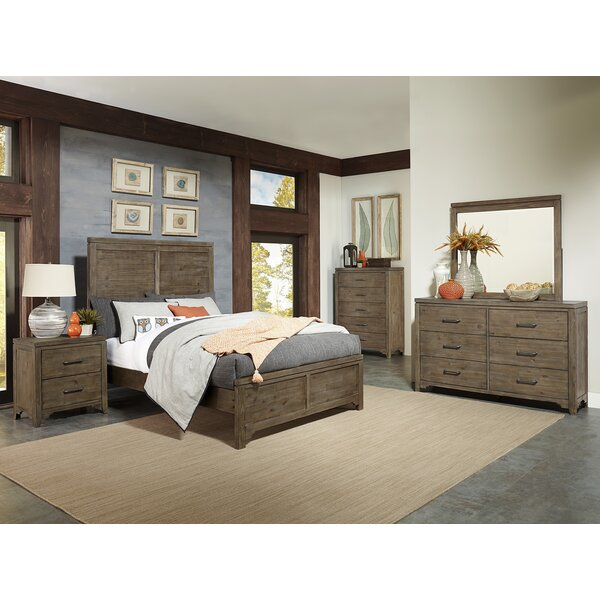 Saucedo Queen Panel Configurable Bedroom Set by Union Rustic