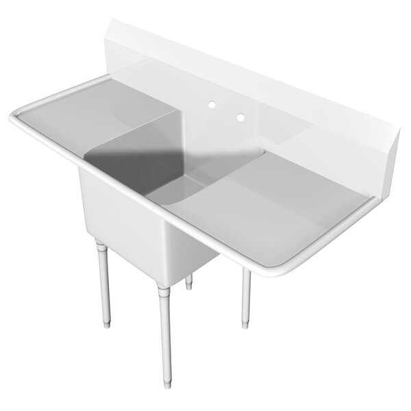 73 x 25.5 Free Standing Service Sink by IMC Teddy
