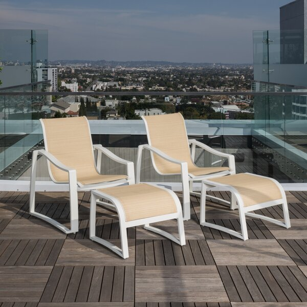 Leigha 4 Piece Seating Group by Ivy Bronx