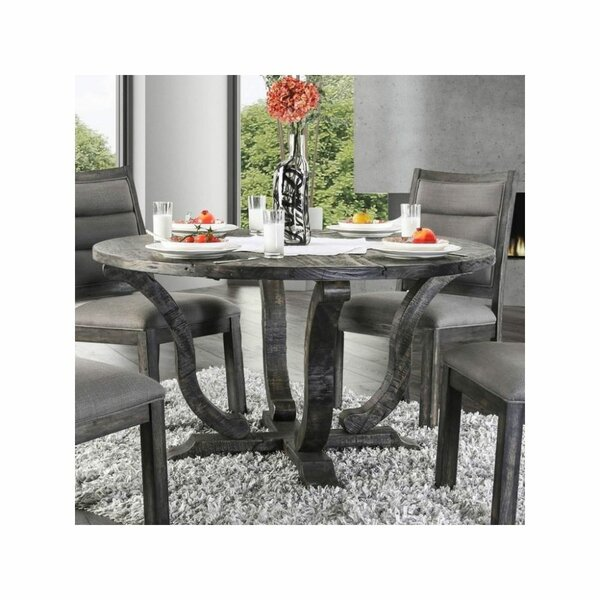 Dufresne Solid Wood Dining Table by Gracie Oaks