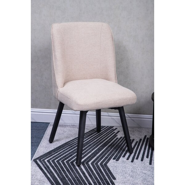 Jepson Upholstered Dining Chair (Set of 2) by George Oliver