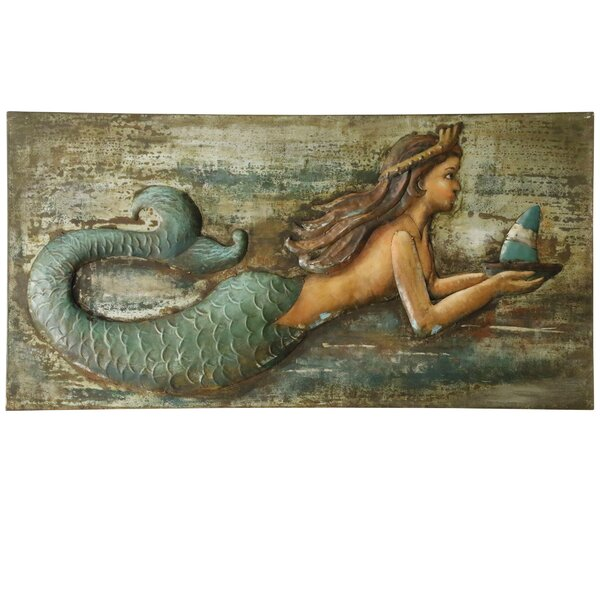 The Mermaid Wall Décor by Rosecliff Heights