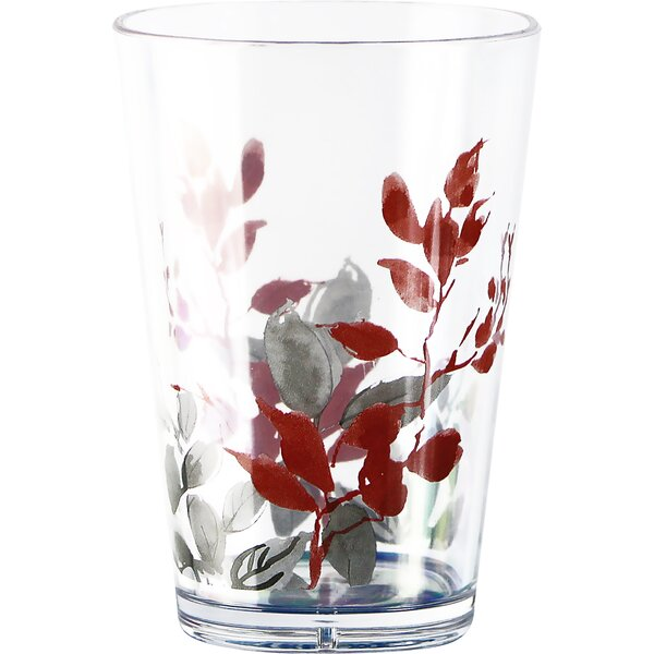 Kyoto Leaves Acrylic 8 oz. Drinkware (Set of 6) by Corelle