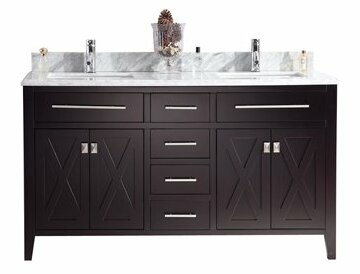 Wimbledon 60 Double Bathroom Vanity Set by Laviva