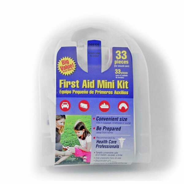 33-Piece All Purpose First Aid Kit by Ready America