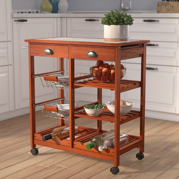 Modern Serita Kitchen Cart By Winston Porter Today Sale Only
