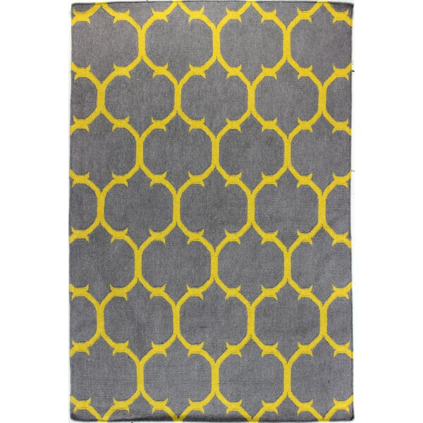 Rockport Grey/Gold Area Rug by Bashian Rugs