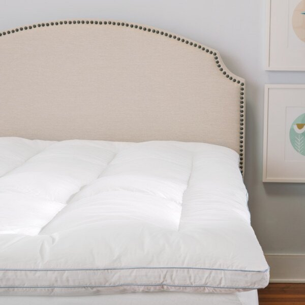 Brinkley Deluxe 3 Gel Memory Foam Mattress Topper by The Twillery Co.
