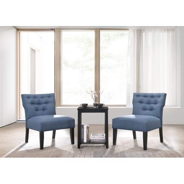 Bridger 3 Piece Slipper Chair Set by Red Barrel Studio Red Barrel Studio