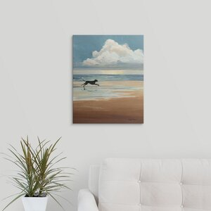 'Low Tide' by Avery Tillmon Painting Print on Wrapped Canvas by Great Big Canvas