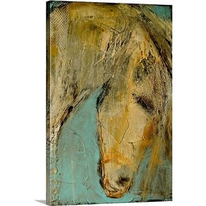 She's A Beauty by Erin Ashley Graphic Art Print on Canvas by Great Big Canvas