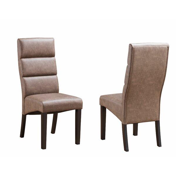 Teixeira Upholstered Dining Chair (Set of 2) by Ivy Bronx