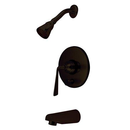 Silver Sage Single Handle Adjustable Shower Head By Kingston Brass