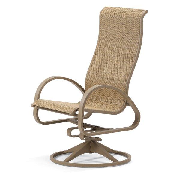 Aruba II Supreme Swivel Patio Dining Chair (Set of 2) by Telescope Casual